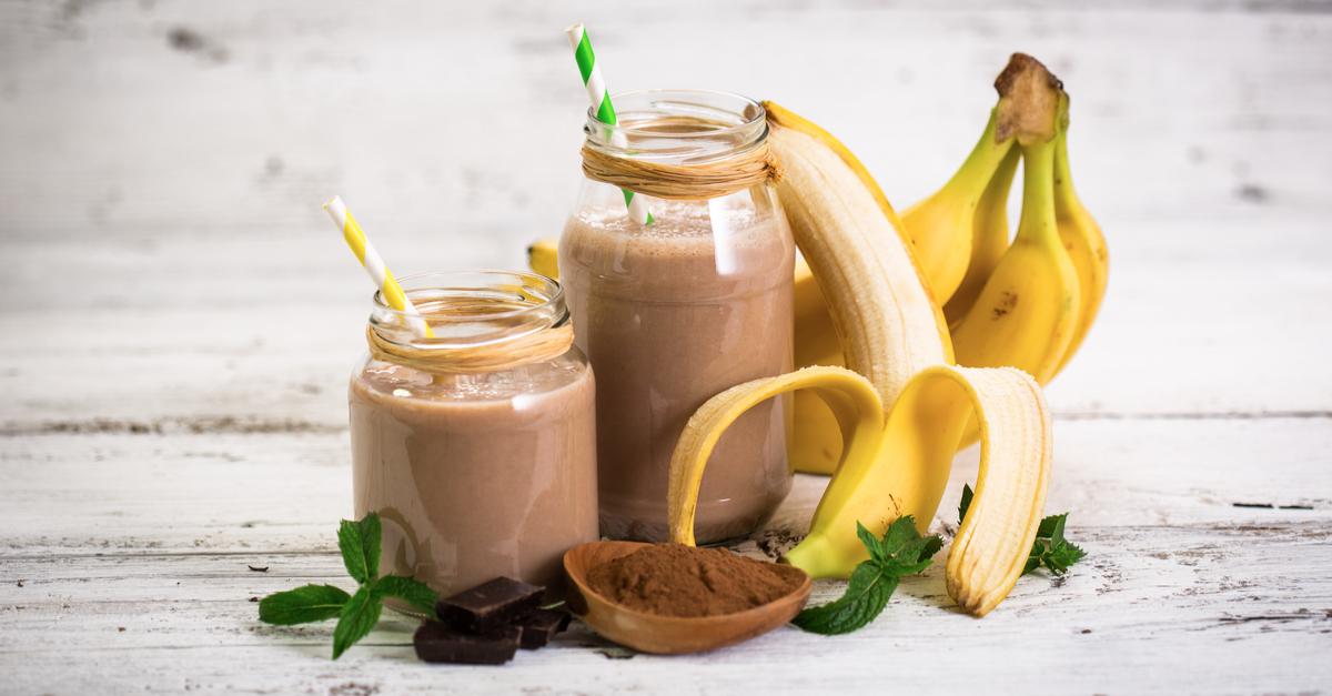 กล้วยปั่นชอคโกแลต